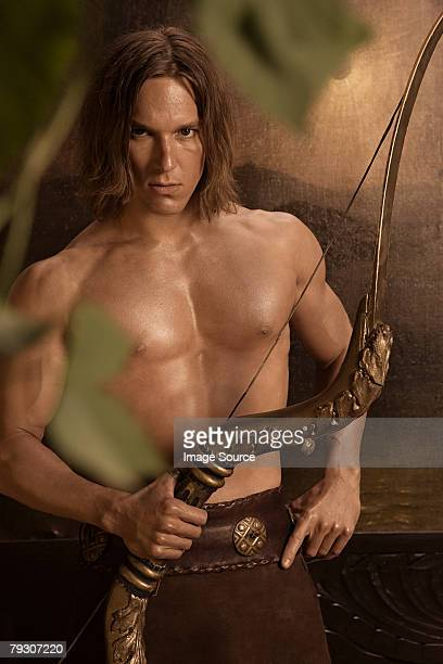Siegfried with crossbow