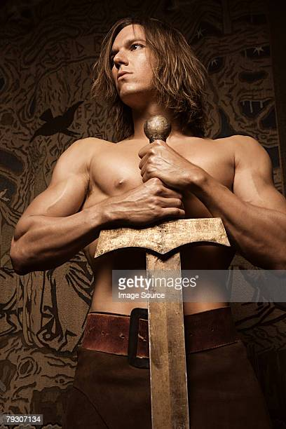 Siegfried with sword