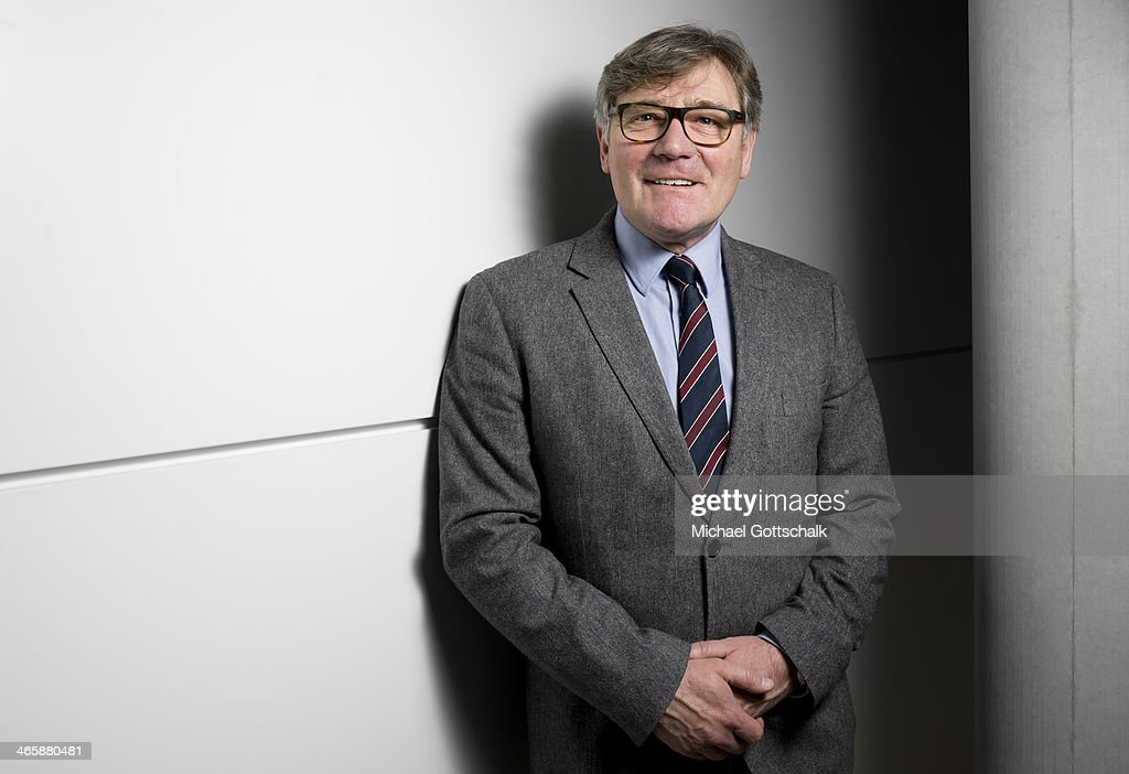 Siegmund Ehrmann, SPD, Member of German Bundestag, poses during a portrait session on January 28, 2014 in Berlin, Germany.