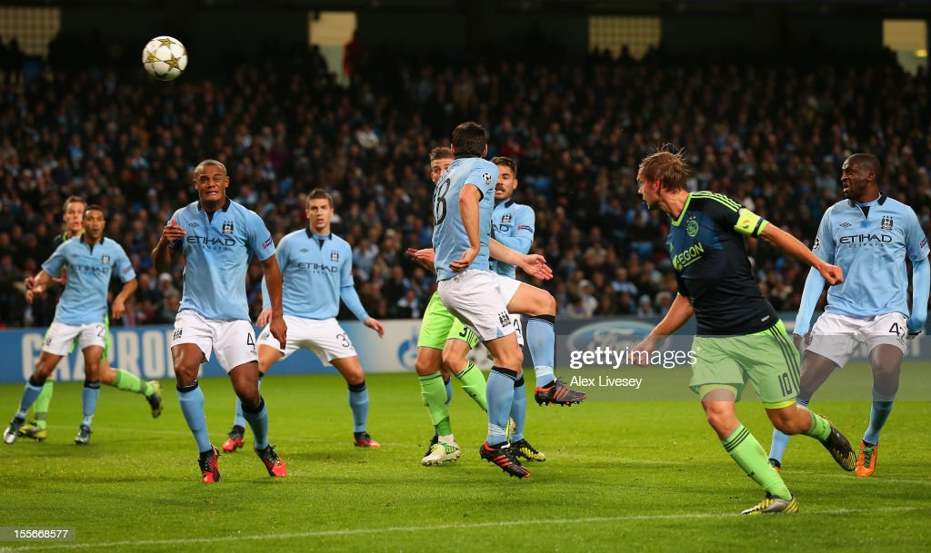 Manchester City FC v Ajax Amsterdam - UEFA Champions League