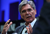 Siemens AG president and CEO Joe Kaeser speaks during the Fortune Global Forum on November 3 2015 in San Francisco California Business leaders are...