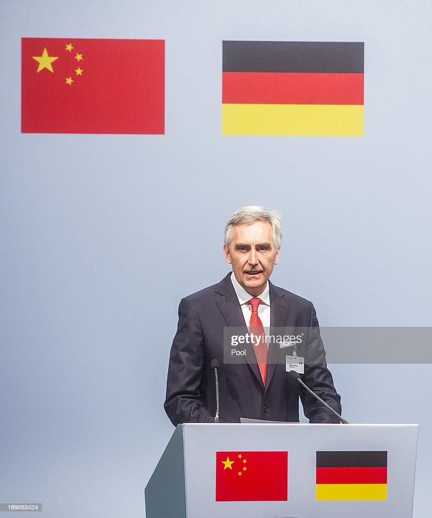 Chinese Prime Minister Li Keqiang Visits Germany