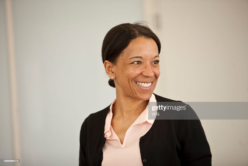 Siemens' Chief Diversity Officer Janina Kugel receives a personal interview at Siemens building on March 17 2015 in Beijing China Janina Kugel...