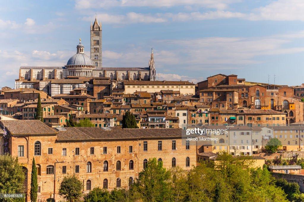 Siena close Cityscape : Stock-Foto