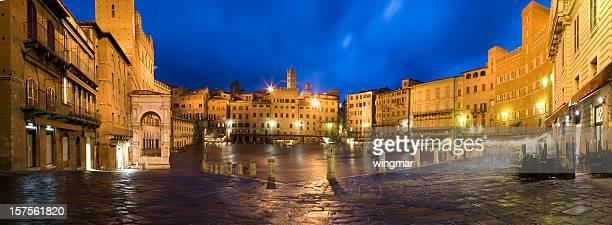 siena marekt lugar na noite-Itália -tuscany