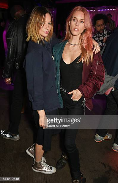 Sienna Guillory and Mary Charteris attend the Massive Attack after party at 100 Wardour St following their performance at the Barclaycard British...