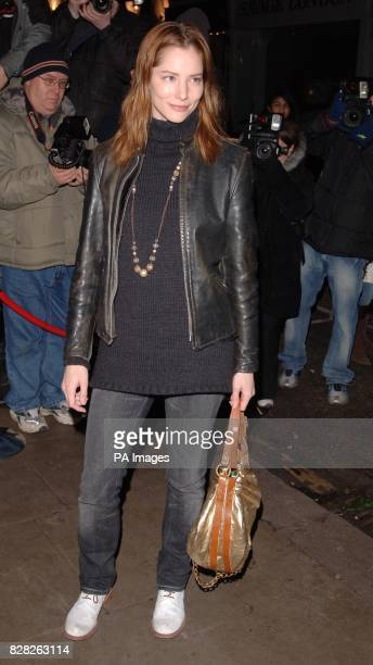 Sienna Guillory arrives at the Grand Classics VIP screening of 'Annie hall' at the Electric Cinema in Notting Hill west London Monday 12 December...