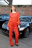 Sienna Guillory attends a VIP dinner hosted by Maserati to unveil the new 'Quattroporte' at The Hurlingham Club on April 17 2013 in London England