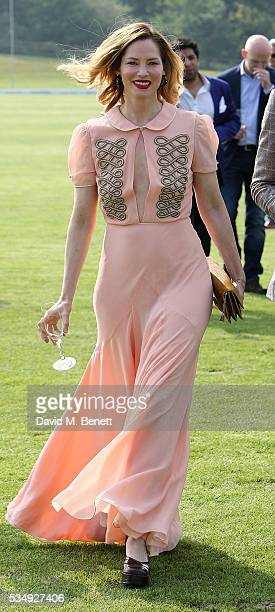 Sienna Guillory attends day one of the Audi Polo Challenge at Coworth Park on May 28 2016 in London England
