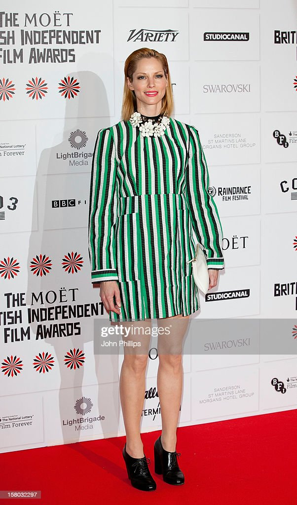 <a gi-track='captionPersonalityLinkClicked' href=/galleries/search?phrase=Sienna+Guillory&family=editorial&specificpeople=224970 ng-click='$event.stopPropagation()'>Sienna Guillory</a> attends the British Independent Film Awards at Old Billingsgate Market on December 9, 2012 in London, England.