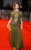 Sienna Guillory attends the EE British Academy Film Awards at The Royal Opera House on February 8 2015 in London England
