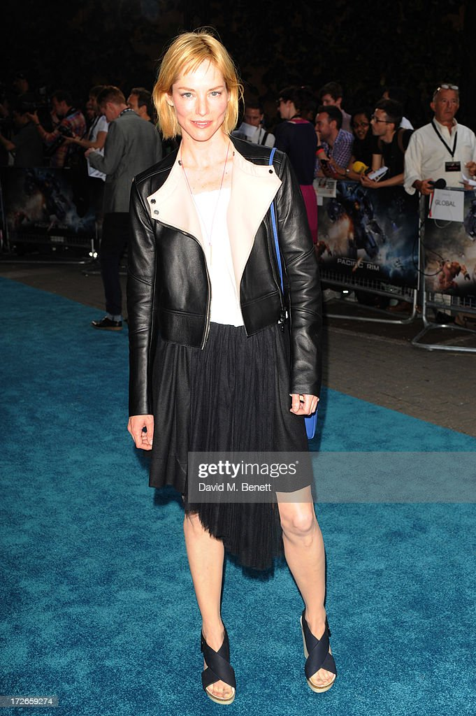 Sienna Guillory attends the European Premiere of 'Pacific Rim' at BFI IMAX on July 4, 2013 in London, England.