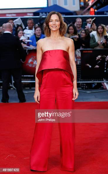 Sienna Guillory attends the HighRise Screening during the BFI London Film Festival at Odeon Leicester Square on October 9 2015 in London England