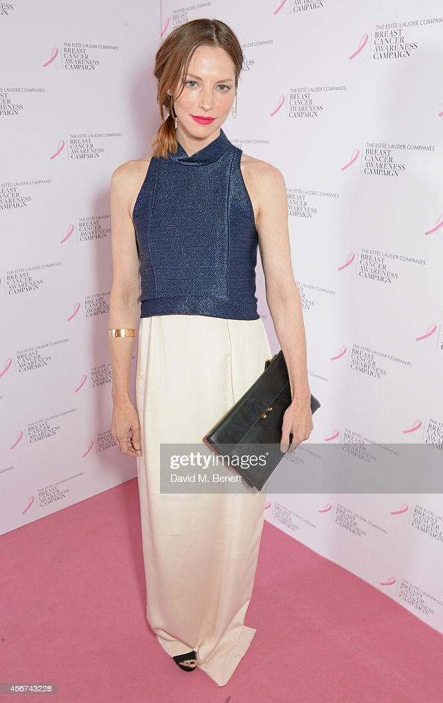 Launch Of The Estee Lauder Companies Breast Cancer Awareness  Campaign 2014