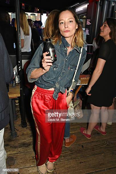 Sienna Guillory attends the launch of the new Idris Elba Superdry Boxpark retail space on August 14 2016 in London England