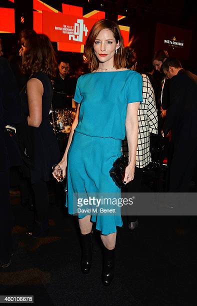Sienna Guillory attends The Moet British Independent Film Awards 2014 at Old Billingsgate Market on December 7 2014 in London England