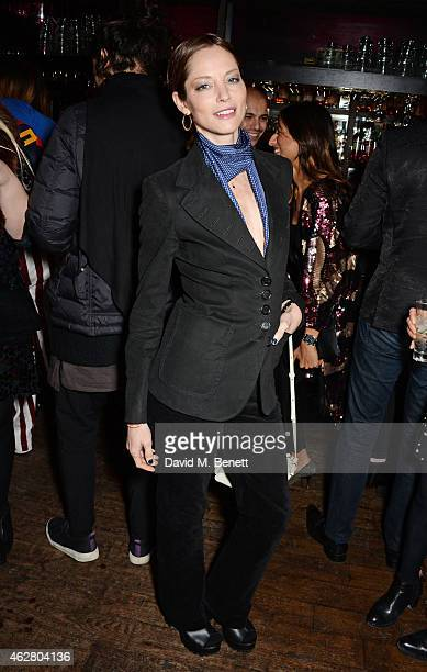 Sienna Guillory attends the Oh My Love PreLFW Disco at The Scotch of St James on February 5 2015 in London England