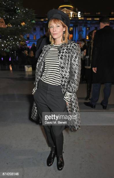 Sienna Guillory attends the opening party of Skate at Somerset House with Fortnum Mason on November 14 2017 in London England London's favourite...