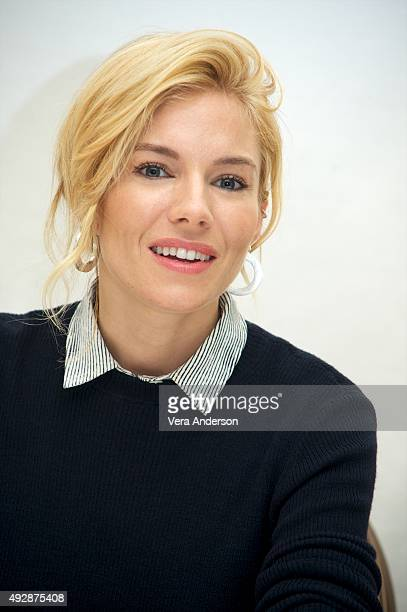 Sienna Miller at the 'Burnt' Press Conference at the Four Seasons Hotel on October 14 2015 in Beverly Hills California