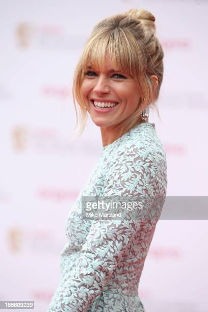 Sienna Miller attends the Arqiva British Academy Television Awards 2013 at the Royal Festival Hall on May 12 2013 in London England