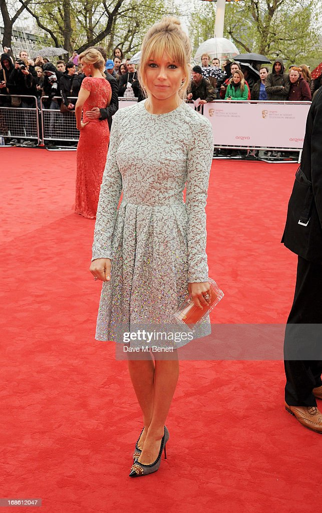 Sienna Miller attends the Arqiva British Academy Television Awards 2013 at the Royal Festival Hall on May 12, 2013 in London, England.