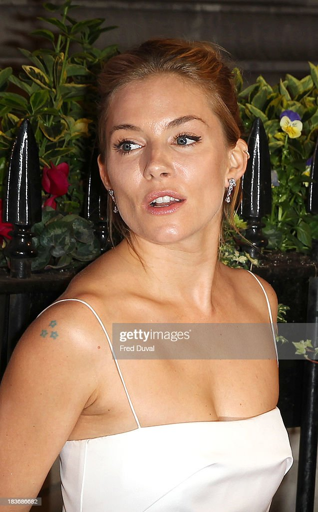 <a gi-track='captionPersonalityLinkClicked' href=/galleries/search?phrase=Sienna+Miller&family=editorial&specificpeople=171883 ng-click='$event.stopPropagation()'>Sienna Miller</a> attends the BFI Gala Dinner at 8 Northumberland Avenue on October 8, 2013 in London, England.