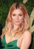 Sienna Miller attends the British Fashion Awards 2013 at London Coliseum on December 2 2013 in London England