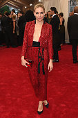 Sienna Miller attends the 'China Through The Looking Glass' Costume Institute Benefit Gala at the Metropolitan Museum of Art on May 4 2015 in New...