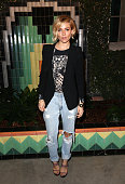 Sienna Miller attends the launch of Just One Eye's Ulysses Tier 1 The Ultimate Disaster Relief Kit on December 5 2014 in Los Angeles California
