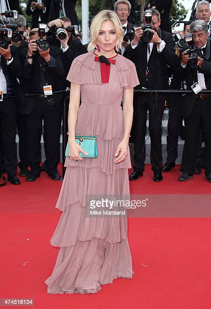 Sienna Miller attends the 'Macbeth' Premiere during the 68th annual Cannes Film Festival on May 23 2015 in Cannes France