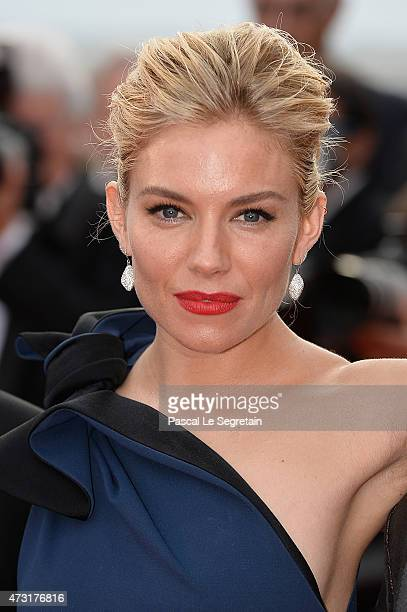 Sienna Miller attends the opening ceremony and premiere of 'La Tete Haute' during the 68th annual Cannes Film Festival on May 13 2015 in Cannes France
