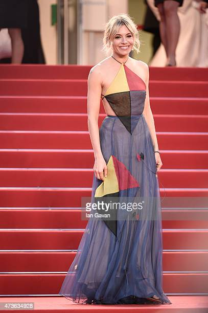 Sienna Miller attends the Premiere of 'The Sea Of Trees' during the 68th annual Cannes Film Festival on May 16 2015 in Cannes France
