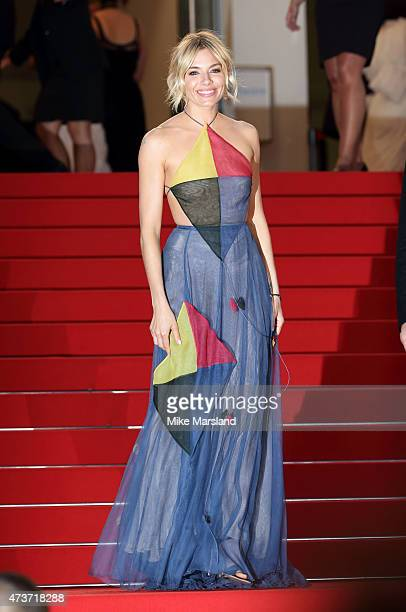 Sienna Miller attends 'The Sea Of Trees' Premiere during the 68th annual Cannes Film Festival on May 16 2015 in Cannes France