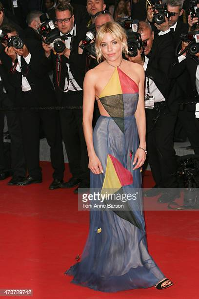Sienna Miller attends the 'Sea Of Trees' premiere during the 68th annual Cannes Film Festival on May 16 2015 in Cannes France