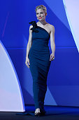 Sienna Miller during the Opening Ceremony of the 68th annual Cannes Film Festival on May 13 2015 in Cannes France