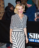 Sienna Miller is seen at 'The Daily Show With Jon Stewart' on January 15 2015 in New York City