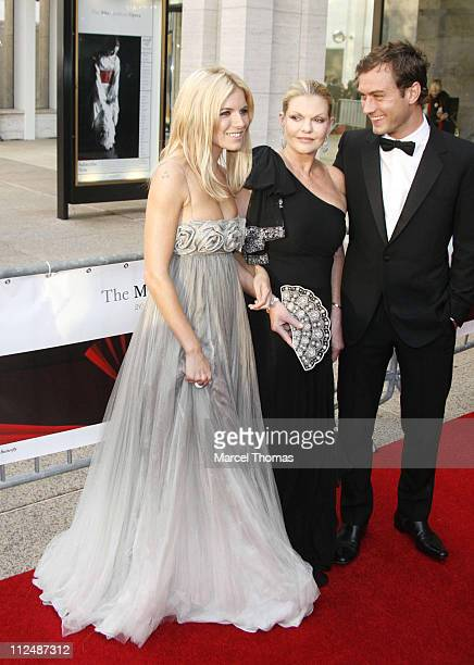 Sienna Miller Josephine Miller and Jude Law during 'Madama Butterfly' Opening Night Starting the Lincoln Center Metropolitan Opera 20062007 Season at...