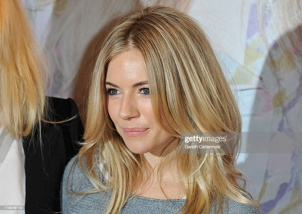 Sienna Miller poses during the launch the new Twenty8Twelve collection at Selfridges on March 14, 2011 in London, England.