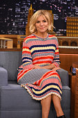 Sienna Miller Visits 'The Tonight Show Starring Jimmy Fallon' at Rockefeller Center on January 13 2015 in New York City