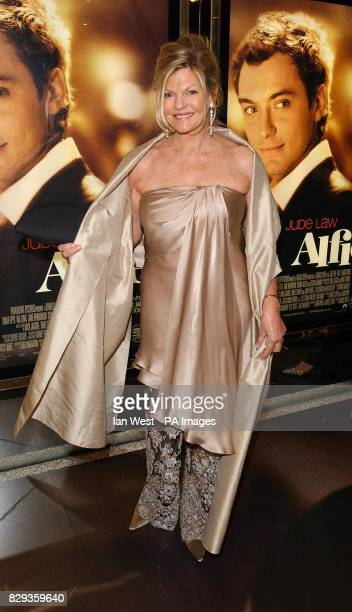 Sienna Miller's mother Josephine arrive for the world charity premiere of Alfie at the Empire Leicester Square in central London in aid of MakeAWish...