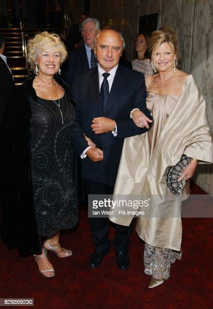 Sienna Millers mother Josephine with Jude Law's parents Peter and Maggie arrive for the world charity premiere of Alfie at the Empire Leicester...