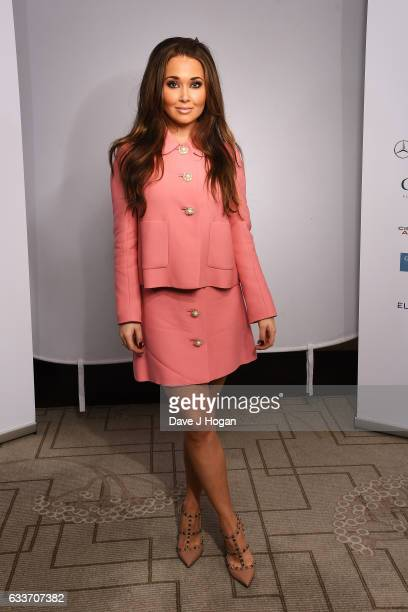 Sienna MysonDavies attends the Zoom F1 Charity auction on February 3 2017 in London United Kingdom