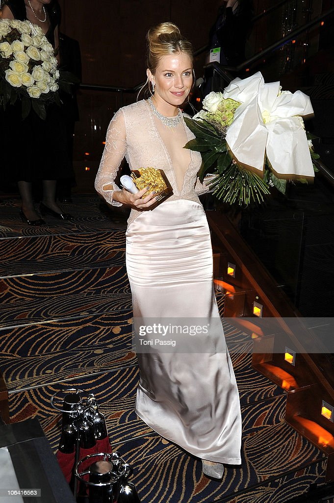 Sienna Rose Miller attends the UNESCO Charity-Gala 2010 at Maritim Hotel on October 30, 2010 in Duesseldorf, Germany.