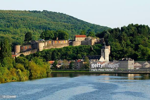 Sierck-les-Bains, River Moselle, Lorraine