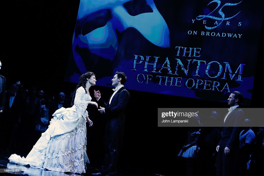 <a gi-track='captionPersonalityLinkClicked' href=/galleries/search?phrase=Sierra+Boggess&family=editorial&specificpeople=539375 ng-click='$event.stopPropagation()'>Sierra Boggess</a> performs at 'The Phantom Of The Opera' Broadway 25th Anniversary at Majestic Theatre on January 26, 2013 in New York City.