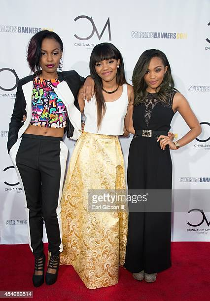 Sierra McClain China Anne McClain and sister Lauryn McClain attend China Anne McClain's Sweet 16 Birthday Bash at CBS Studios Radford on September 4...