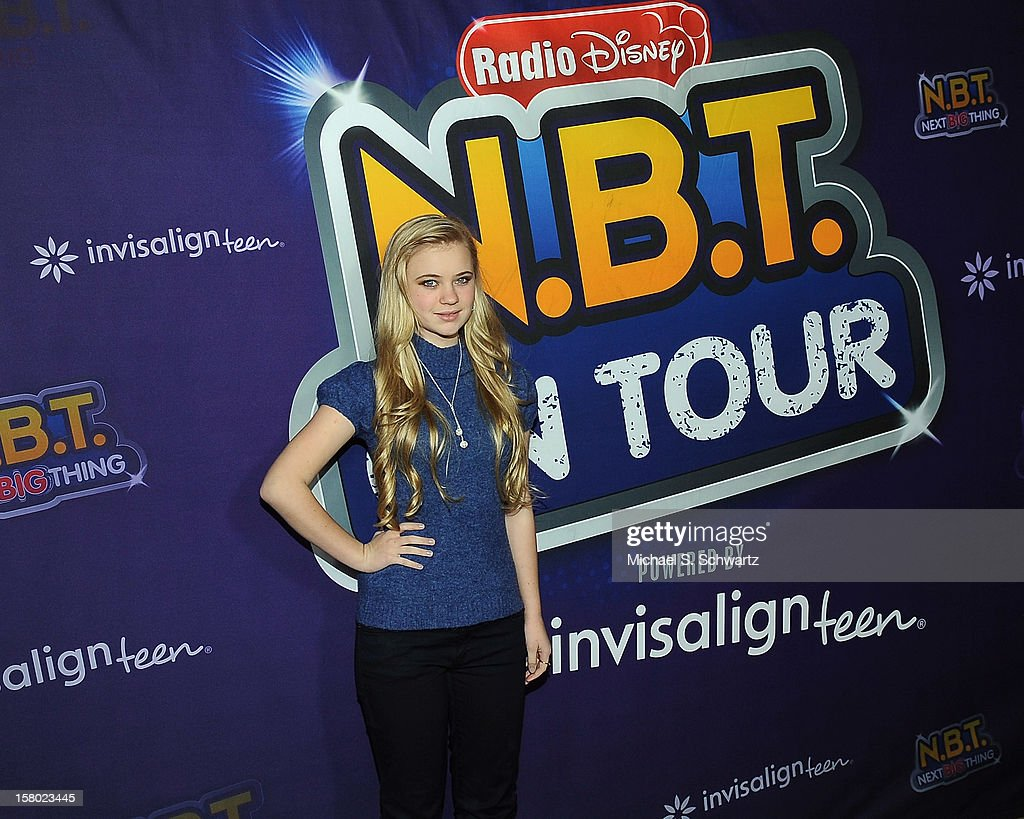 Sierra McCormick arrives at the Radio Disney's 'N.B.T.' (Next BIG Thing) Season 5 winner and finale event at The Americana at Brand on December 8, 2012 in Glendale, California.