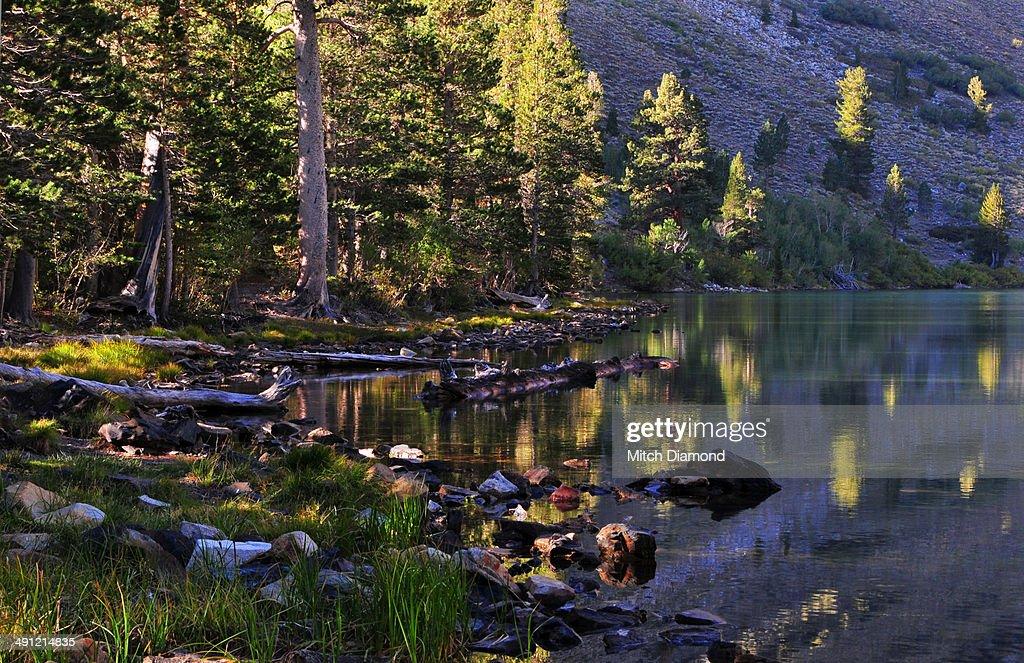 Sierra Nevada autumn reflections