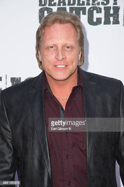Sig Hansen attends the premiere of the 10th season of 'Deadliest Catch' at ArcLight Cinemas on April 22 2014 in Hollywood California