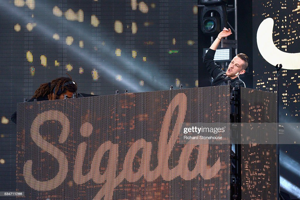 Sigala performs during 'MTV Crashes Coventry' at Ricoh Arena on May 27, 2016 in Coventry, England.